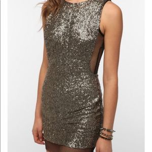 Lovers & Friends Lucky Bodycon Sequin Dress Size M